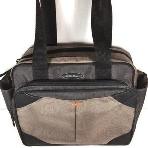 Eddie Bauer Taupe with Black Trim Travel Carry On